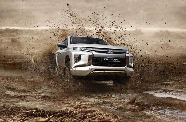 Sức mạnh vượt trội của Mitsubishi Triton mới