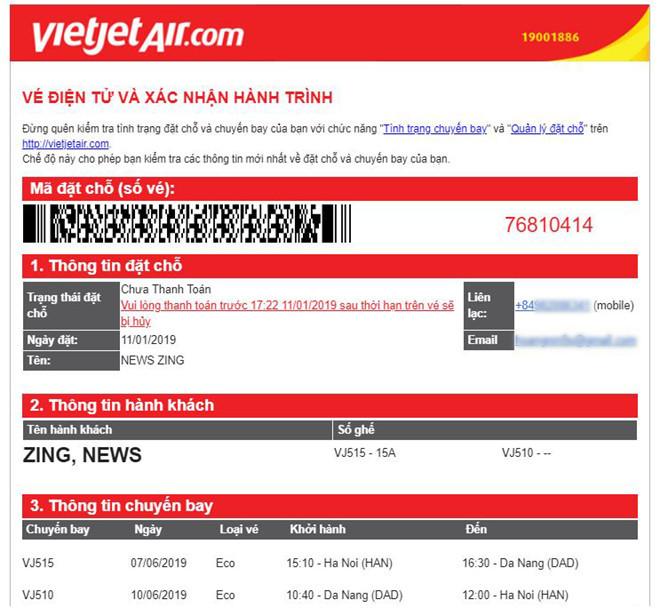 Vietjet Air,hàng không,giá vé máy bay,lừa đảo,vé máy bay