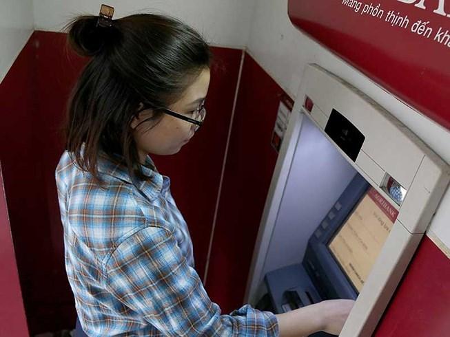 ATM,Ngân hàng Nhà nước,rút tiền