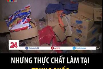 Đột nhập 'thủ phủ' bánh kẹo nhái La Phù