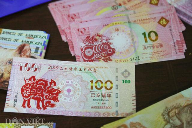 Tiền 2 USD in hình con heo đắt như tôm tươi trước Tết Kỷ Hợi 2019