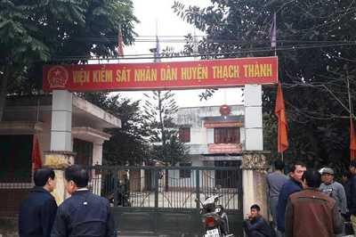 Phó viện kiểm sát huyện ở Thanh Hóa chết treo cổ tại cơ quan