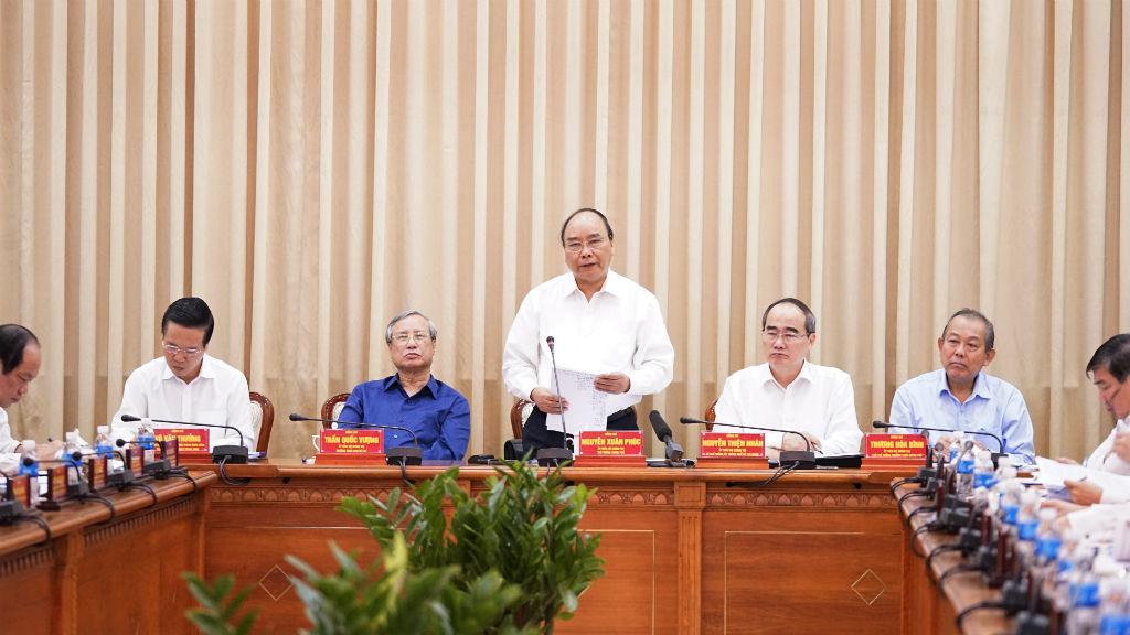Thủ tướng Nguyễn Xuân Phúc,TP.HCM,cơ chế đặc thù,Bí thư Nguyễn Thiện Nhân