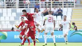 Phát lại trận đấu kiên cường của tuyển Việt Nam trước Iran