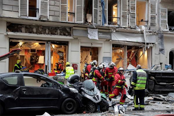 Nổ khí gas,nổ lớn ở Pháp,nổ lớn ở Paris,thế giới 24h
