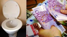 Bất ngờ 2,5 tỷ nhét trong toilet, móc bồn cầu thành tỷ phú