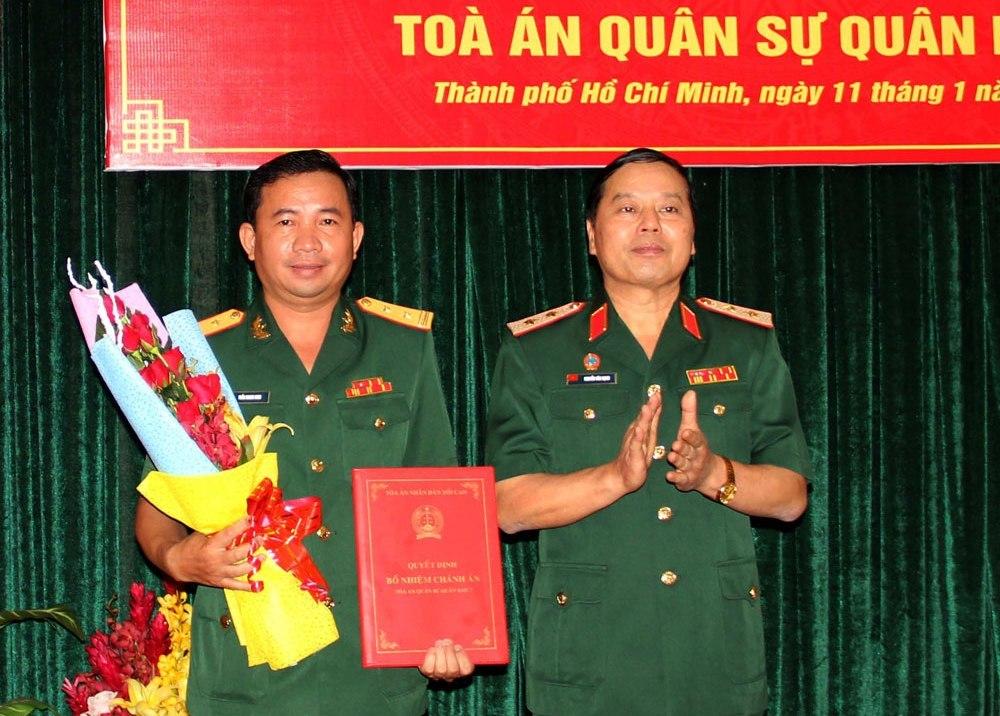 Quân khu 7,Bộ Quốc phòng,bổ nhiệm,nhân sự