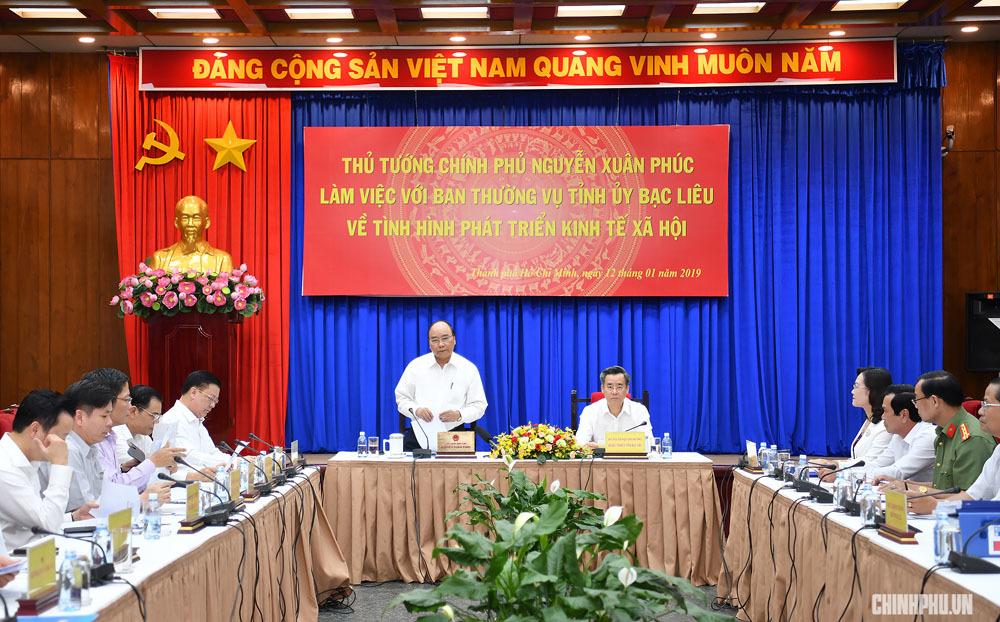 Thủ tướng Nguyễn Xuân Phúc,Nguyễn Xuân Phúc,Bạc Liêu