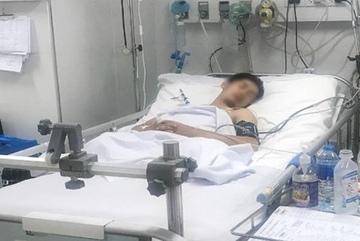 Tiếp 5 lít máu cứu thanh niên bị dứt lìa 2 chân sau tai nạn