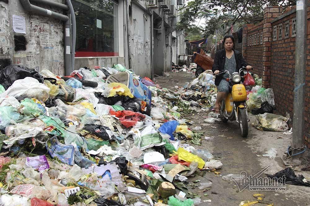 rác thải,Hà Nội,ô nhiễm,ô nhiễm môi trường