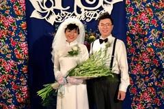 Nhìn 'ảnh cưới' của Thảo Vân, Công Lý phản ứng bất ngờ