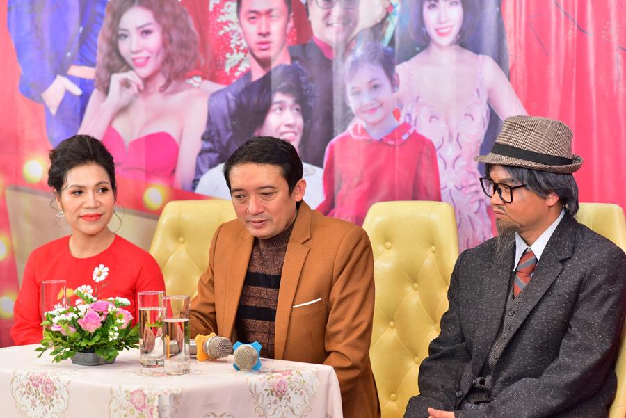 Vợ chồng Lan Hương - Đỗ Kỷ lần đầu cùng nhau đóng hài Tết