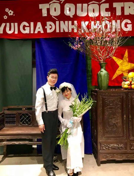 MC Thảo Vân,MC Lê Anh,Tình yêu,Đám cưới,Thời bao cấp
