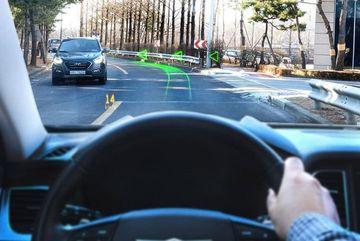 Màn hình giúp công nghệ AR thân thiện hơn với người lái xe