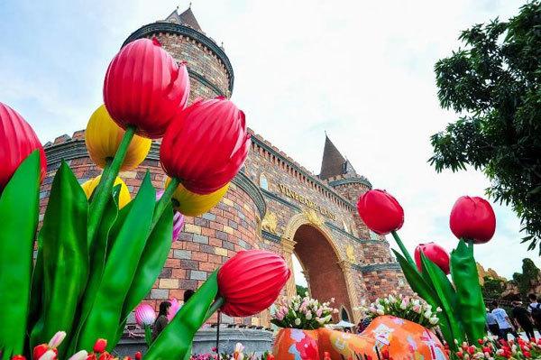 Check-in siêu hot ở 'Hà Lan phiên bản Việt'