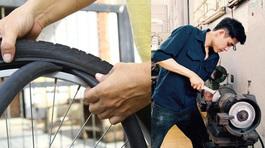 Cú sốc sang Nhật: Vá xe đạp mất 1 triệu, hot boy nhịn cắt tóc vì sợ tốn tiền