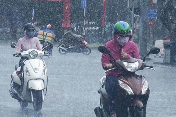 Hà Nội sắp mưa rào, rét đậm