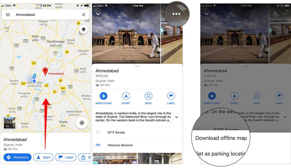 thủ thuật iPhone,thủ thuật iPad,Google Maps