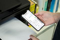 Hướng dẫn in không dây từ iPhone và iPad