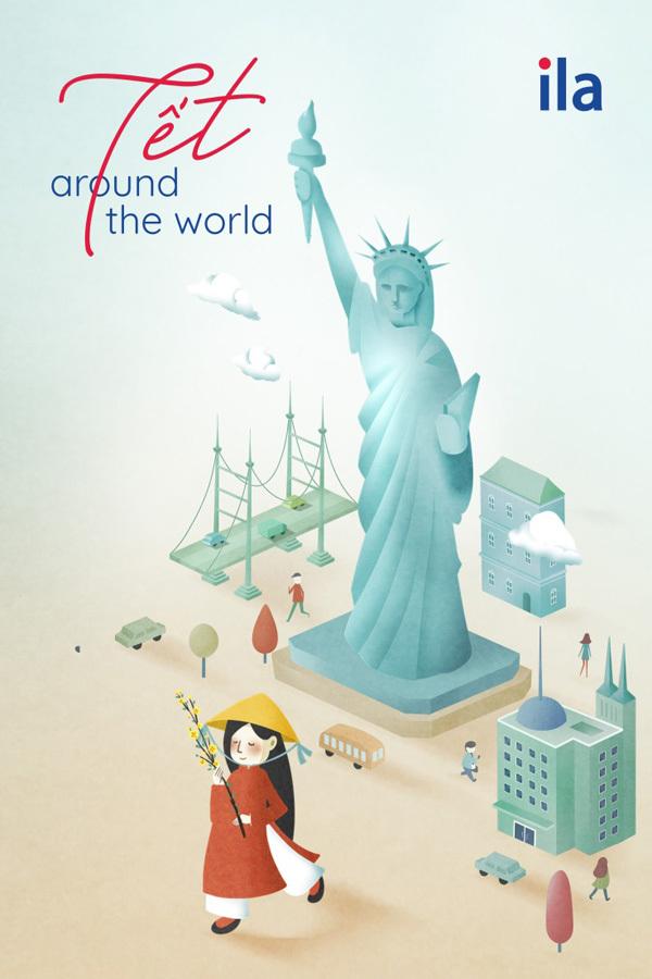 'Tết Around The World' - dự án nghệ thuật của ILA
