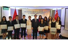 21 học sinh Việt Nam giành học bổng ASEAN 2019