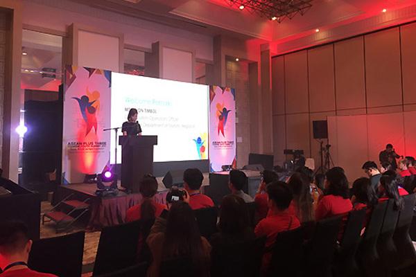 Khai mạc Diễn đàn Thanh niên du lịch ASEAN+3 năm 2018