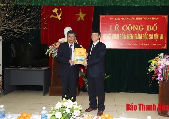 Nhân sự mới Hà Nội, Thanh Hóa, Nghệ An, Đà Nẵng