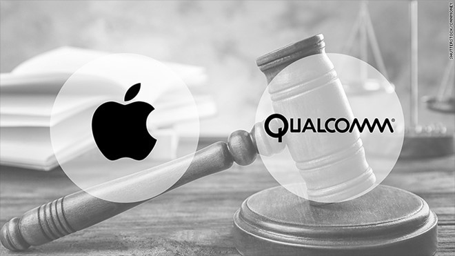 Qualcomm,Apple,bằng sáng chế