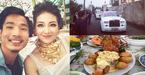 Cô dâu Nam Định đeo vàng trĩu cổ, tiệc cưới toàn rượu ngoại, tôm hùm