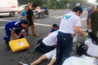 Vận động viên 23 tuổi tử vong ngay trên đường chạy HCMC Marathon 2019