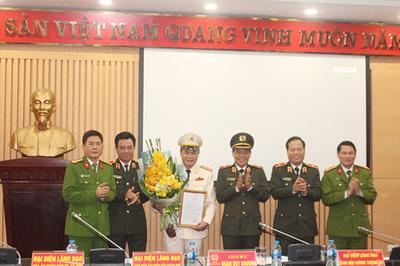 Bổ nhiệm Thủ trưởng Cơ quan Cảnh sát điều tra - Công an TP Hà Nội