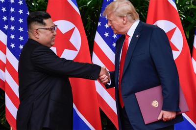 Ông Trump gửi thư cho Kim Jong Un