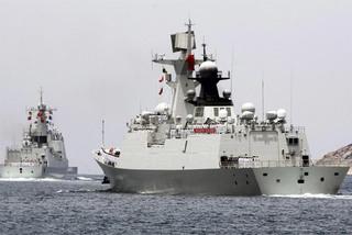 Cận cảnh dàn chiến hạm Trung Quốc điều tới Campuchia