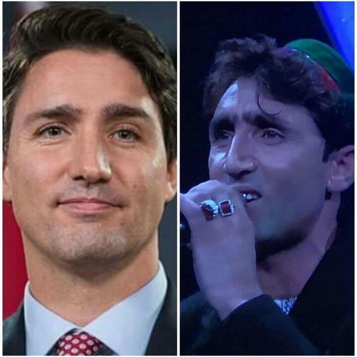 ca sĩ,ca sĩ đám cưới,Thủ tướng Canada