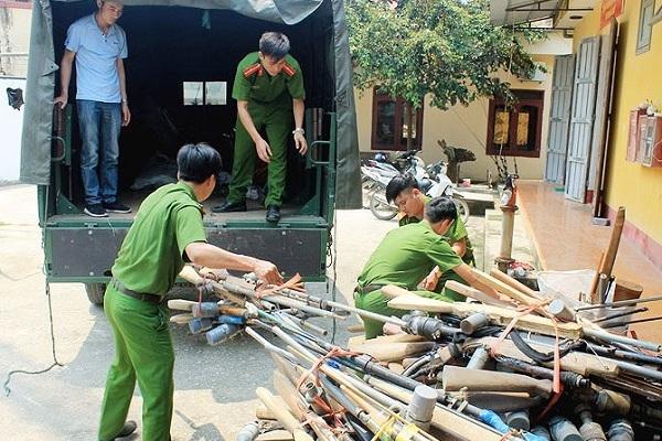 Vi phạm pháp luật khi tự chế súng săn