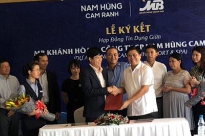 MBBank cấp 900 tỷ cho dự án du lịch ở Khánh Hòa