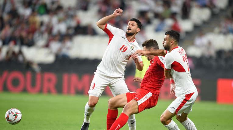 Hòa Jordan, Palestine tranh vé vớt với tuyển Việt Nam