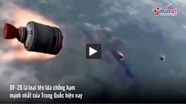 Trung Quốc triển khai 'sát thủ tàu sân bay' để 'nắn gân' Mỹ?