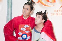 Trấn Thành chấp nhận làm nền cho hot boy 1,86m
