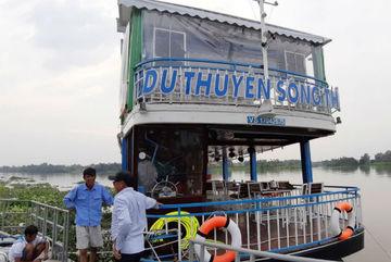 Bình Dương xử lý du thuyền không phép chở khách trên sông Sài Gòn