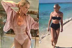 U60, mẹ siêu mẫu Gigi Hadid vẫn nóng bỏng khó tin