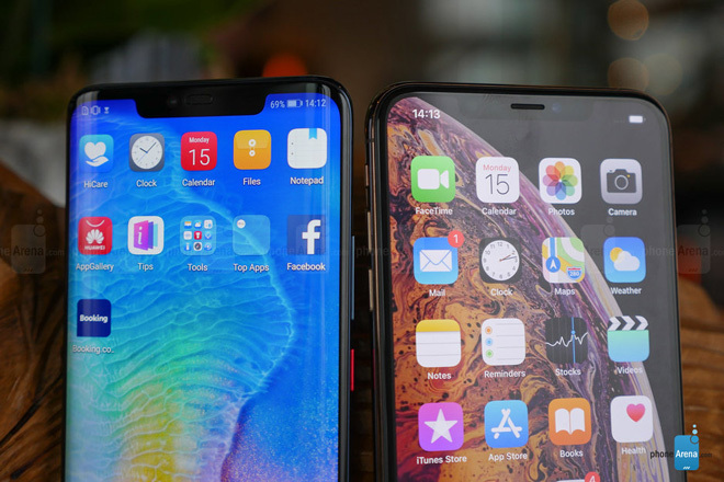 Huawei vượt xa Apple, bám sát nhà sản xuất smartphone số 1 thế giới