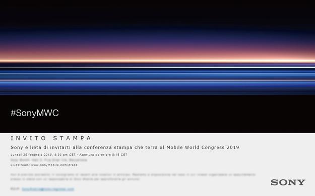 Sony gửi thư mời sự kiện MWC 25/02: Xperia XZ4 ra mắt?