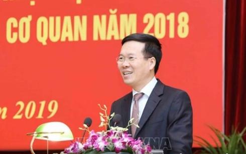 Ông Võ Văn Thưởng: Công tác tuyên giáo tiếp tục bám sát thực tiễn