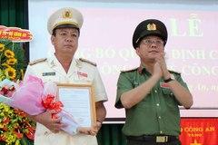 Bộ trưởng Công an bổ nhiệm Phó giám đốc Công an tỉnh