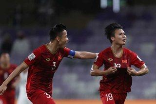 """Quang Hải """"ẵm"""" giải Bàn thắng đẹp nhất Asian Cup 2019"""