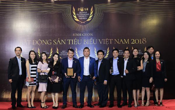 DKRA Vietnam 2 năm liền là Nhà phân phối BĐS tiêu biểu