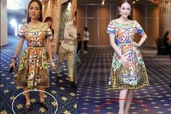 Loạt ảnh hậu trường 'nói không' với giầy cao gót, mỹ nhân Việt bỗng chốc trở thành trò cười cho thiên hạ