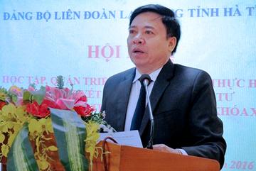 Kỷ luật Phó Ban Nội chính Tỉnh ủy Hà Tĩnh