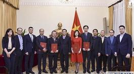 Bộ Ngoại giao bổ nhiệm nhiều nhân sự